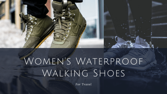 Women's Waterproof Walking Shoes