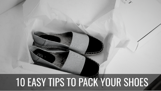 how to pack your shoes for moving